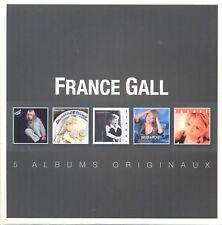 FRANCE GALL - ORIGINAL ALBUM SERIES 5 CD NEUF