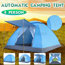 4 People Waterproof Automatic Instant Tent UV Protection Camping Hiking Outdoor
