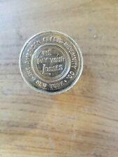 Antique Ca. 1905 American Credit Indemnity Co Paperweight Faux Coins