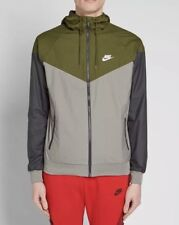41155c6a67 Nike Windrunner Jacket - LARGE - 727324-395 Navy Olive Gray Grey Hooded  Hoodie