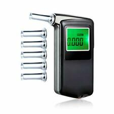 Accurate Portable Breathalizer For Alcohol Content With 5 Mouthpiece Attachments