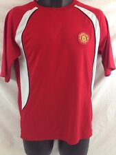 Red Manchester United Shirt MAN UTD 33/34 Soccer