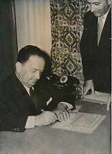 Robert Lacoste c.1956 - 5 Photos Homme Politique Français - LPR 5