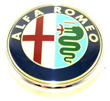 ALFA ROMEO 159 Stemma Logo Badge PORTELLONE POSTERIORE BOOT NUOVO ORIGINALE 50500393