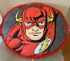 Flash 3D Plush Pillow, 16-inch, Kids Decor Pillow, Lightning Fast / Pre Owned