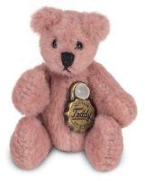 Miniature Pink Teddy Bear by Teddy Hermann in gift box - 4cm - 15447