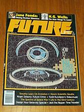 FUTURE LIFE #10 MAY 1979 JANE FONDA H.G. WELLS SCIENCE FICTION US MAGAZINE~