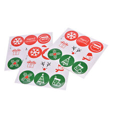 54pcs Merry Christmas Sealing Sticker Labels Gift Sealing Party Decoration GG