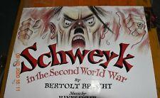 Theatre poster -Schwerk in the Second World War - Raymond Briggs