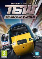 Train Sim World (includes CSX Heavy Haul) PC DVD NEW!