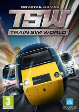 Train Sim World (includes CSX Heavy Haul) PC DVD NEW!