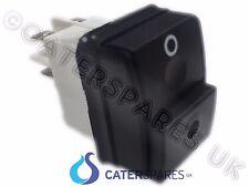 Interruptor de Encendido/Apagado Empuje BIPOLAR Doble Polo 4 Pin 22X30MM 230V IP54 16A 2NO