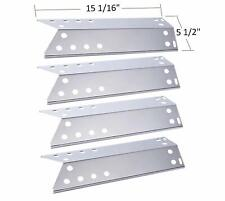 BBQ funland SH6781 (4-pack) Stainless Steel Heat Plate for Kenmore Sears,...