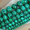 6-12mm Green Malachite Gemstone Round Loose Spacer Beads 15''