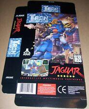 Atari Jaguar 64-Bit Games Console Original Iron Soldier Game Box NEW J9026E