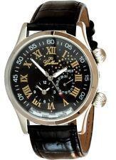 Gallucci Automatikuhr Modell Starworld Herrenuhr Dualtimer Armbanduhr