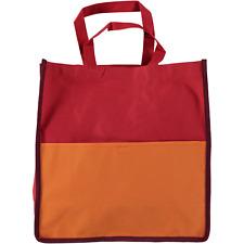 AMB 01669 Burton contraste Shopper Bolso Rojo