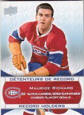 MAURICE RICHARD NO:249 SSP in CANADIENS CENTENNIAL SET 2008-09