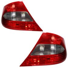 For Mercedes Benz Clk C209 2007 - 2010 Rear Light Tail Lights 1 Pair O/S And N/S