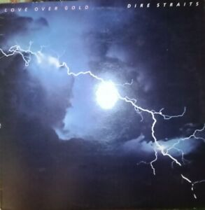 VINILE LP DIRE STRAITS - LOVE OVER GOLD 33 GIRI ANNO 1982 STAMPA ITALY 6359 109