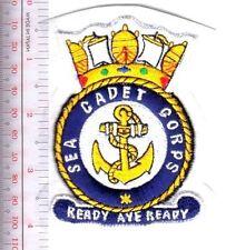United kingdom Sea Cadet Corps British Royal Navy RN on White felt
