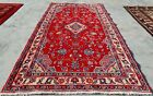 Authentic Hand Knotted Vintage Hamidoun Wool Area Rug 5 x 3 Ft (11579 KBN)