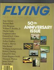 Flying Magazine September 1977 Isaac Asimov Richard Bach Arthur Godfrey