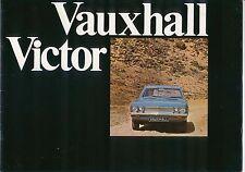 Vauxhall Victor FD 1600 2000 3300 Super SL 1969-71 Original UK Brochure No V1929