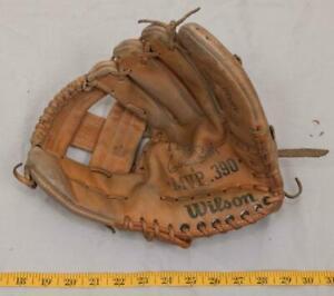 Wilson George Brett MVP 390 Model A2350 Baseball Glove Right Hand Thrower tthc