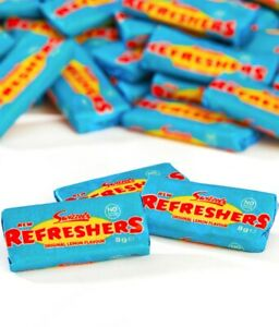 Swizzels Refreshers Mini Chews Bars Sweets Retro Wedding Favours Kids Party Bags