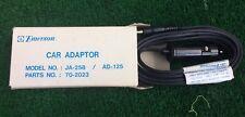 Emerson Car Power Cord Adapter For Cb Radios Model No Ja-238 /Ad121 Part 70-2012