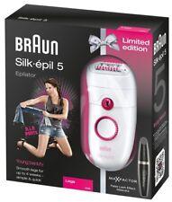 Braun Silk-épil 5 5185 Young Beauty-épilateur Avec Confort Système + Mascara