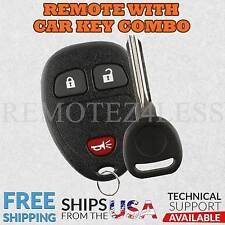 New Replacement Keyless Entry Remote Car Fob for 15913420 + Chip Plus Key n Clip