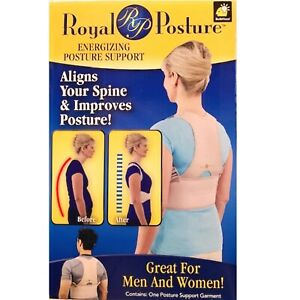 Royal Posture ENERGIZING POSTURE SUPPORT Men/Women size L/XL ~ New in Box