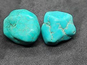 Crystals Tumblestones,large turquoise stone size 25 to 30 mm 1 pc