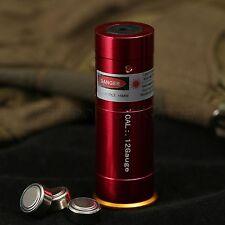 Red Laser Cartridge Bore Sighter 12GA Bore sighter for Shotgun Hunting 12 Gauge