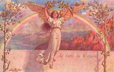 1682) WW1 ALLEGORICA AI FORTI LA VITTORIA. ILLUSTRATORE PASINI.