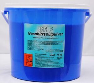 10 kg Eimer Geschirrspülpulver Pulver Geschirrspülmaschinen Geschirr Spülpulver