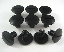 "LARGE 1"" HEAD BLACK ALUM DZUS FASTENERS 10 PACK, 7/16"" x .600"", Sprintcar Sprint"