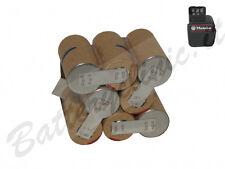 Batteria trapano Metabo 31178000  9.6 V Ni-Cd 2000 mAh. kit AUTO INSTALLAZIONE