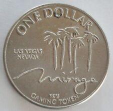 MIRAGE LAS VEGAS NEVADA ONE $1.00 DOLLAR GAMING TOKEN COIN