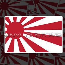 "2"" Rising Sun Flag Japanese Japan Flag Vinyl Decal Stickers JDM - 10 pcs."