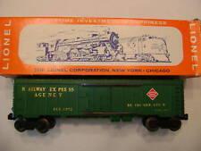 Lionel 6572 Railway Express Car Mint (OB)