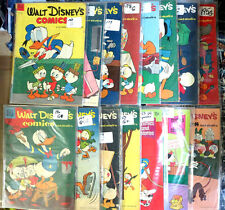 WALT DISNEY'S COMICS AND STORIES Collection #7 - 15 books G-VG Donald Mickey