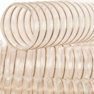 AWM Absaugschlauch 0,4 mm , 100 mm, Absauganlage Spiralschlauch Flexschlauch 3 M