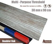 Boulder Oak Laminate Threshold 38mmx90cm Multi-Height & Pivot All Floor Types