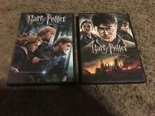 HARRY POTTER AND THE DEATHLY HALLOWS PARTS 1 & 2, DVD, GREAT SHAPE