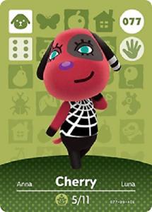 Cherry NFC Amiibo Card Animal Crossing