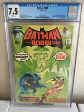 Batman #232 (1971) - 1st Ra's Al Ghul! - CGC 7.5 White Pages. Key Book!