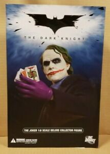DARK KNIGHT THE JOKER 1/6 SCALE COLLECTOR FIGURE (UNOPENED, FACTORY SEALED)